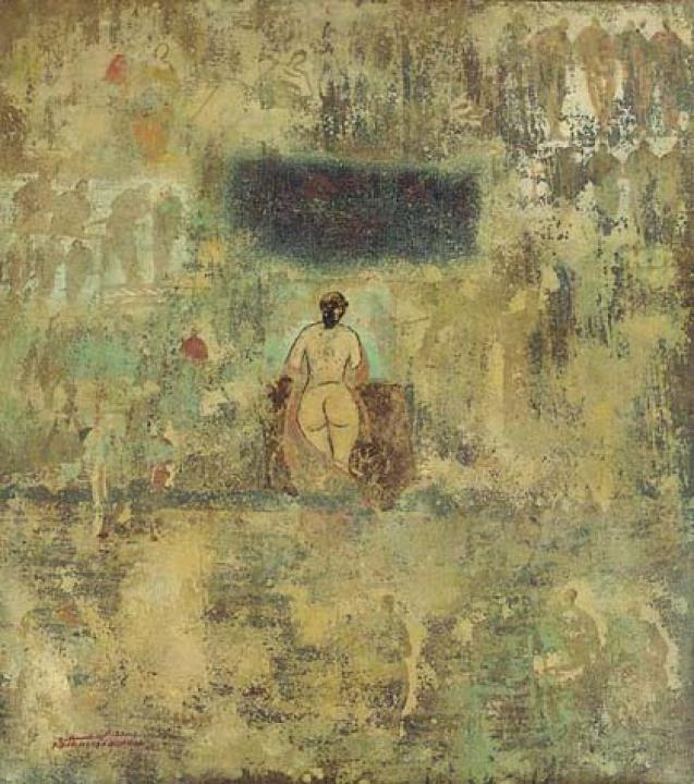 Abdul Hamid Abdalla : Untitled